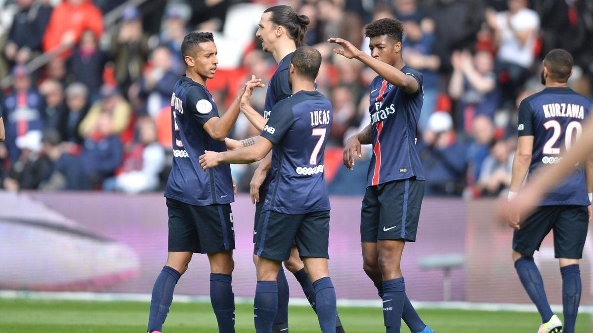 Le PSG a été sans pitié pour Caen