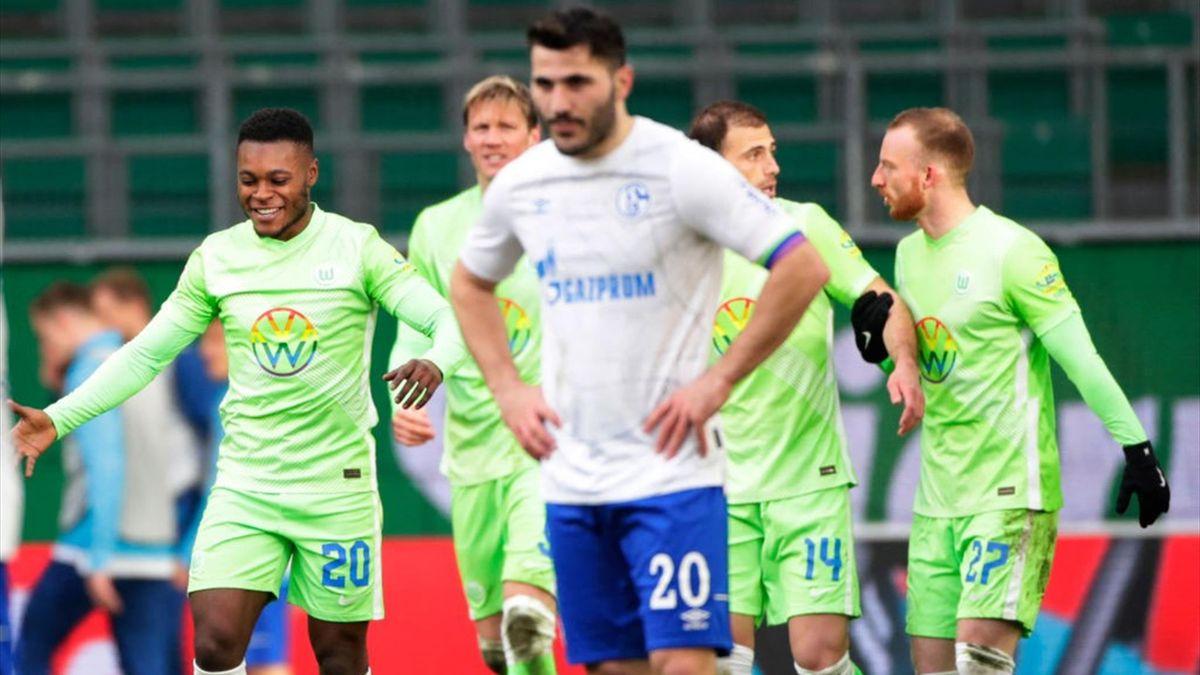 Wolfsburg gewinnt gegen Schalke
