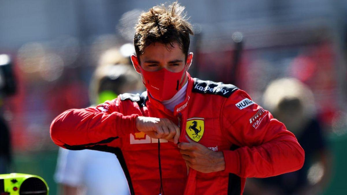 Charles Leclerc (Ferrari) au GP d'Autriche 2020