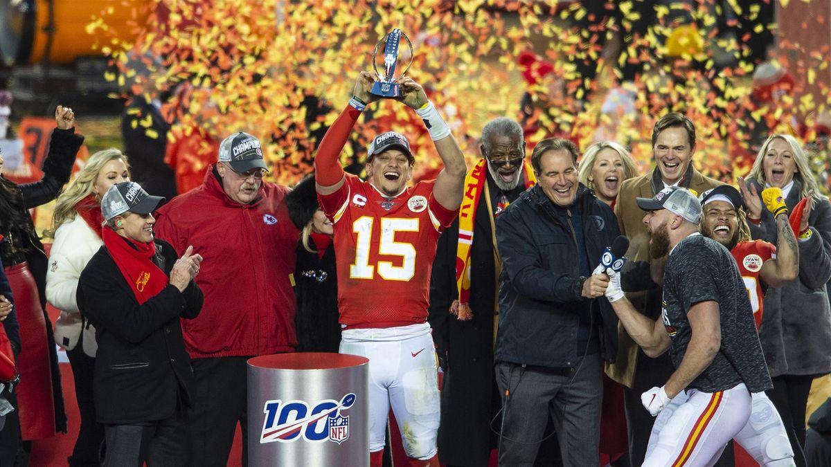 La gioia di Kansas City Chiefs, Getty Images