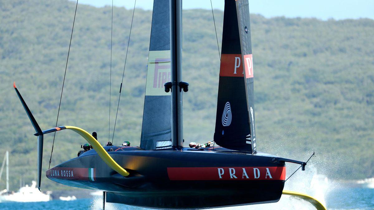 Inizio memorabile per Luna Rossa nella finale di Prada Cup, Getty Images