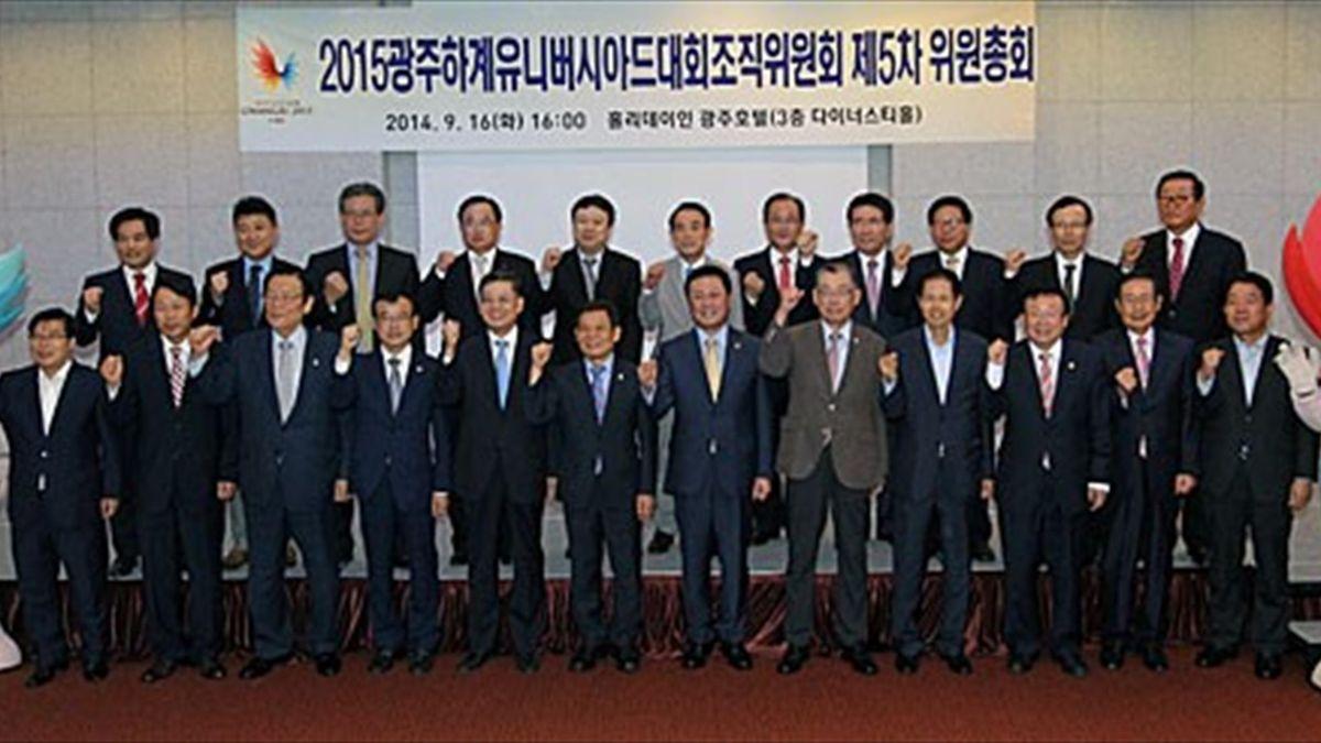 Elegido copresidente del GUOC 2015 el expresidente de Corea