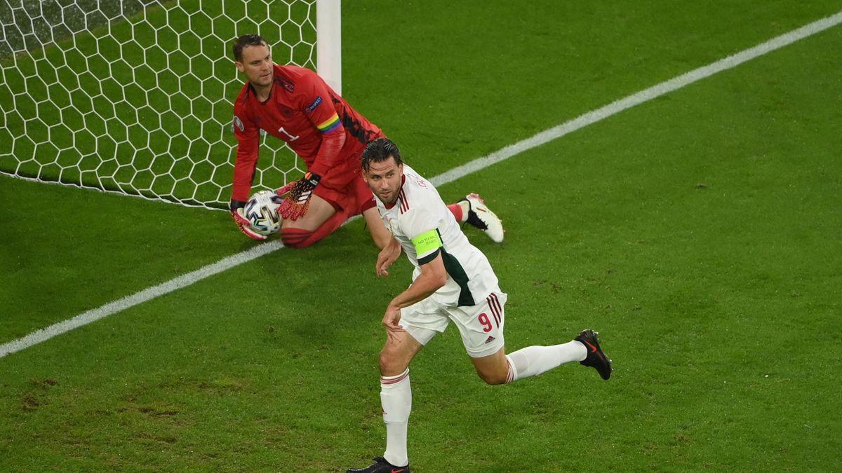 Adam Szalai gives Hungary the lead
