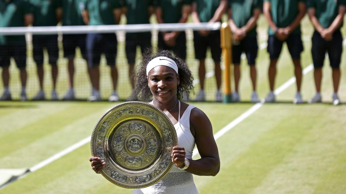 Serena Williams - Wimbledon 2015 şampiyonu