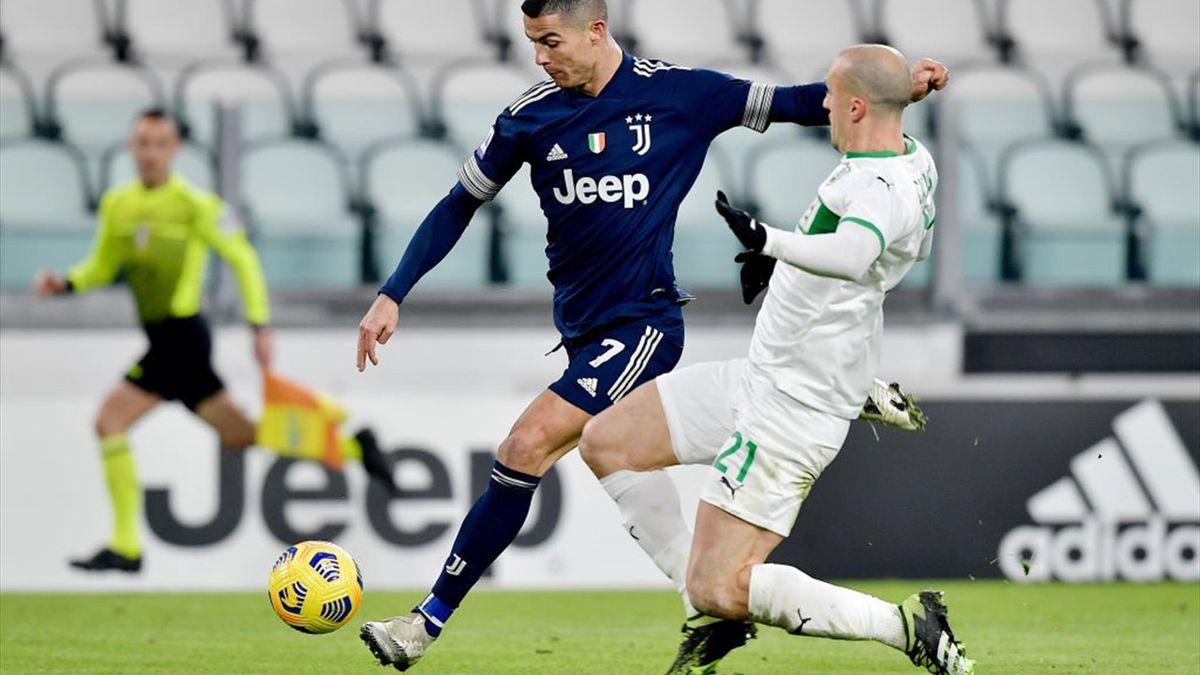 Cristiano Ronaldo și Vlad Chiricheș
