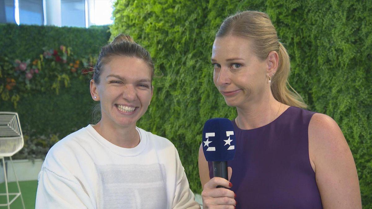 Australian Open - Post match interview Halep in english