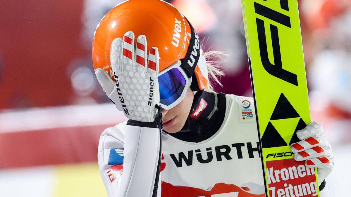 Marita Kramer - Nordische Ski-WM 2021 in Oberstdorf