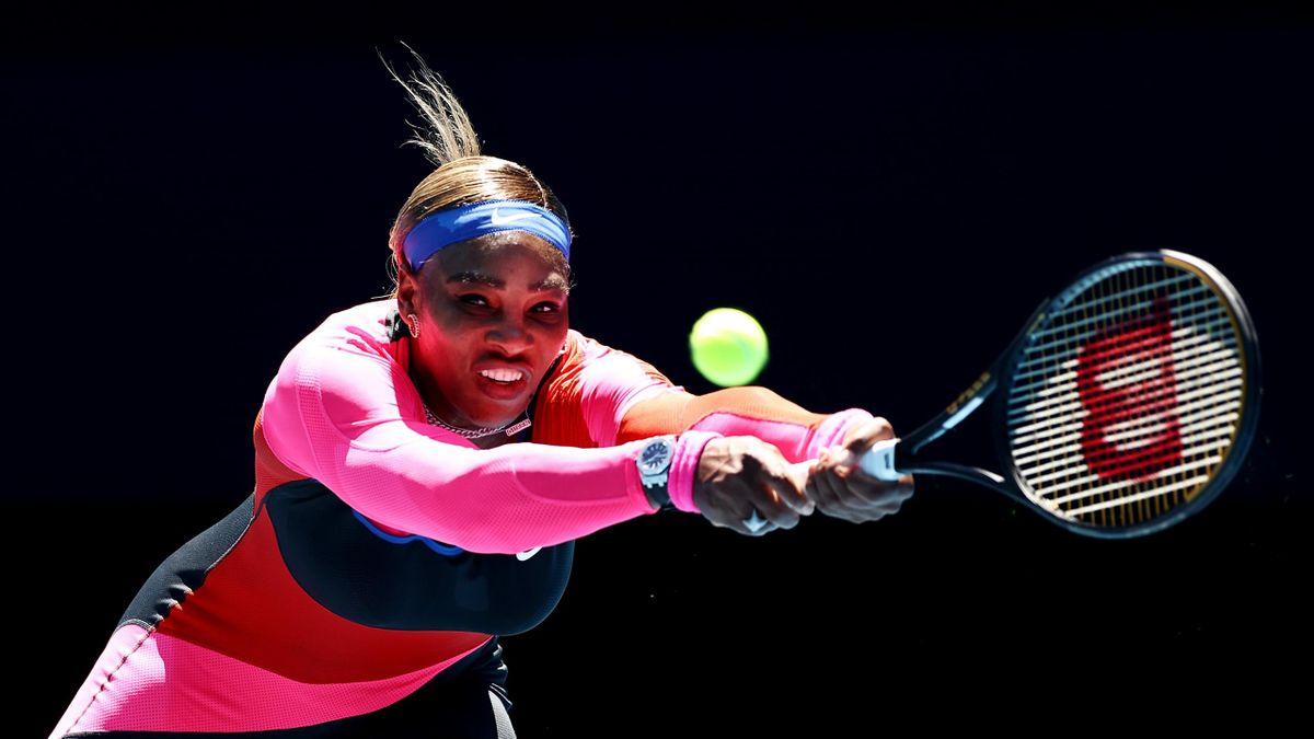 Serena Williams bei den Australian Open 2021