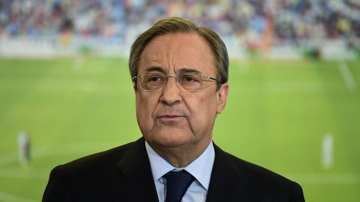 Президент мадридского «Реала» Флорентино Перес