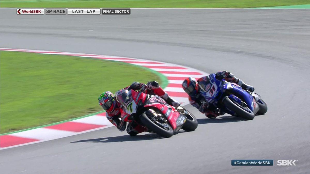 Superbike Catalunya - Van der Mark win the superpole race