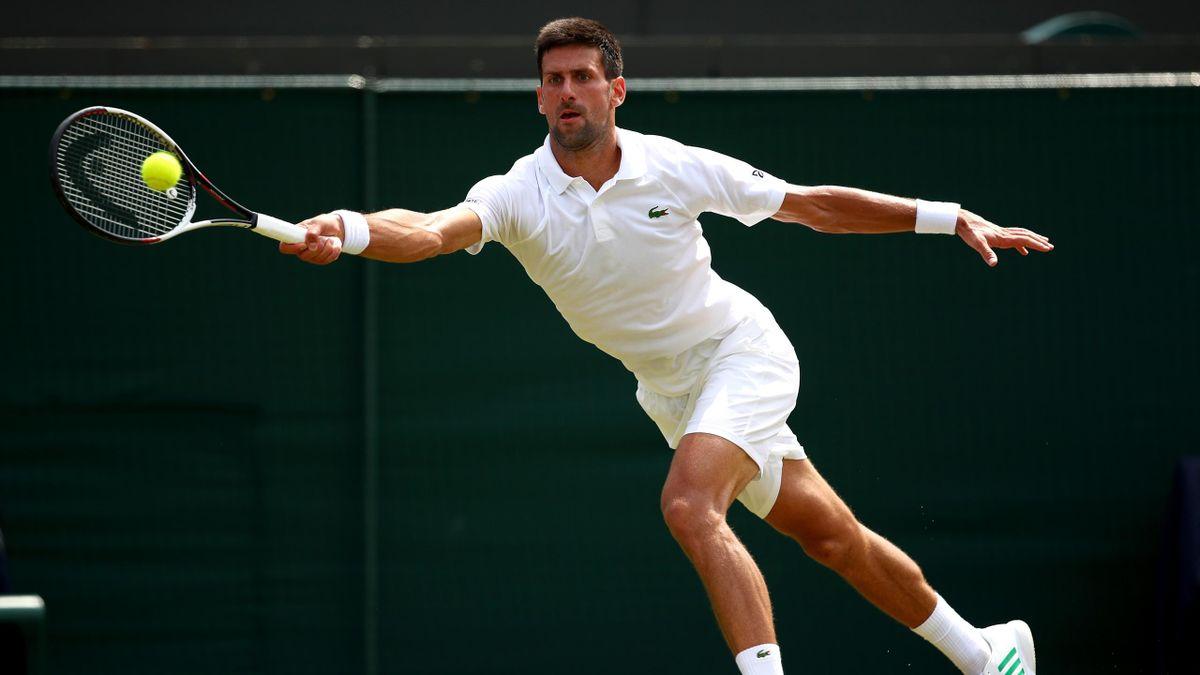 Novak Djokovic - Wimbledon 2017