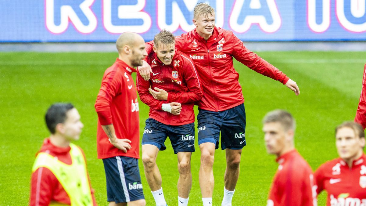 Martin Ødegaard Erling Braut Haaland
