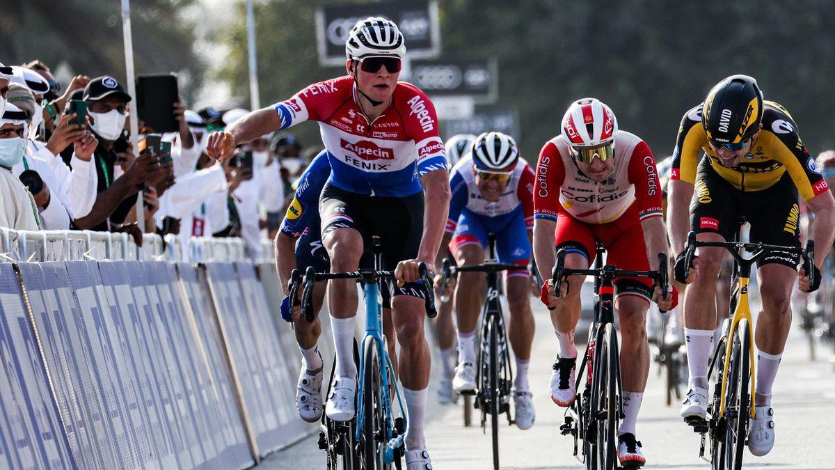 Mathieu van der Poel - 2021 UAE Tour, stage 1 - Getty Images