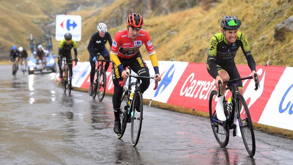 Primoz Roglic hat auf der 6. Vuelta-Etappe sein rotes Führungstrikot verloren
