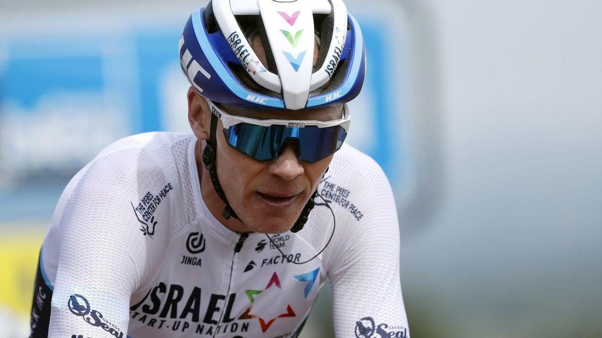 Der Start von Christopher Froome bei der Tour de France ist unsicher