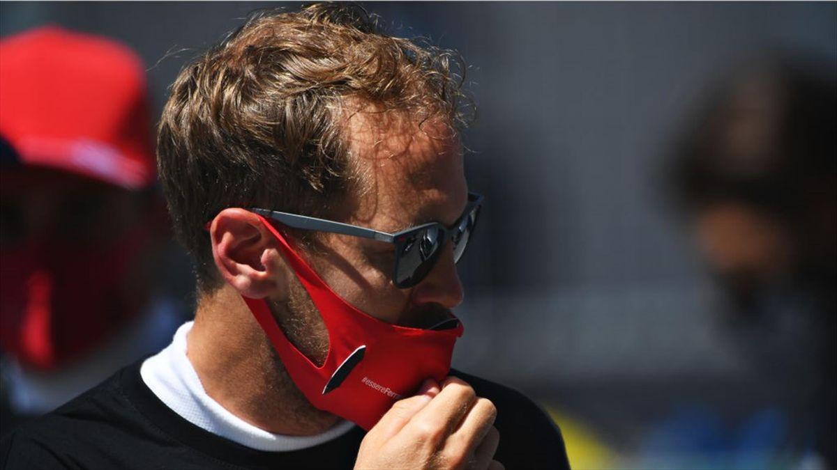 Sebastian Vettel erlebte in Spielberg ein ganz schwaches Wochenende
