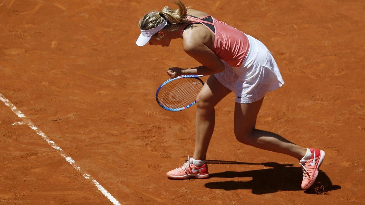 Maria Sharapova WTA Madrid