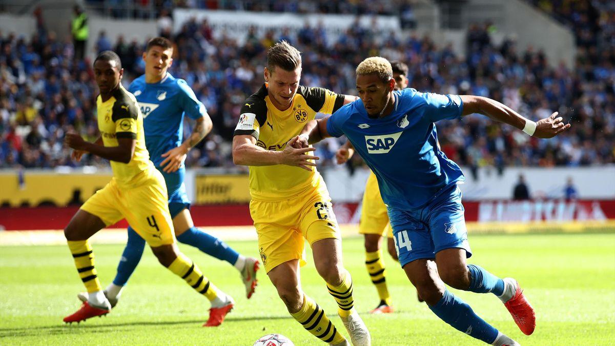 Fußball Dortmund Hoffenheim