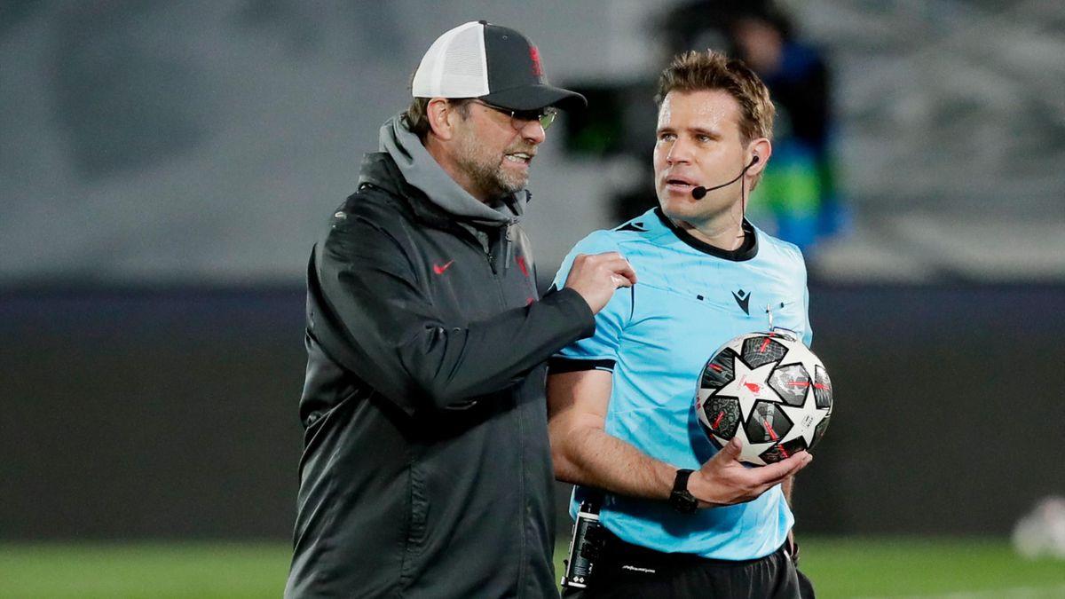 Jürgen Klopp i-a reproșat lui Felix Brych că nu a dictat fault la Mane, la faza premergătoare golului doi din meciul Real Madrid-Liverpool