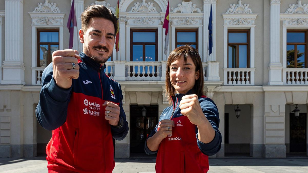 Damián Quintero y Sandra Sánchez