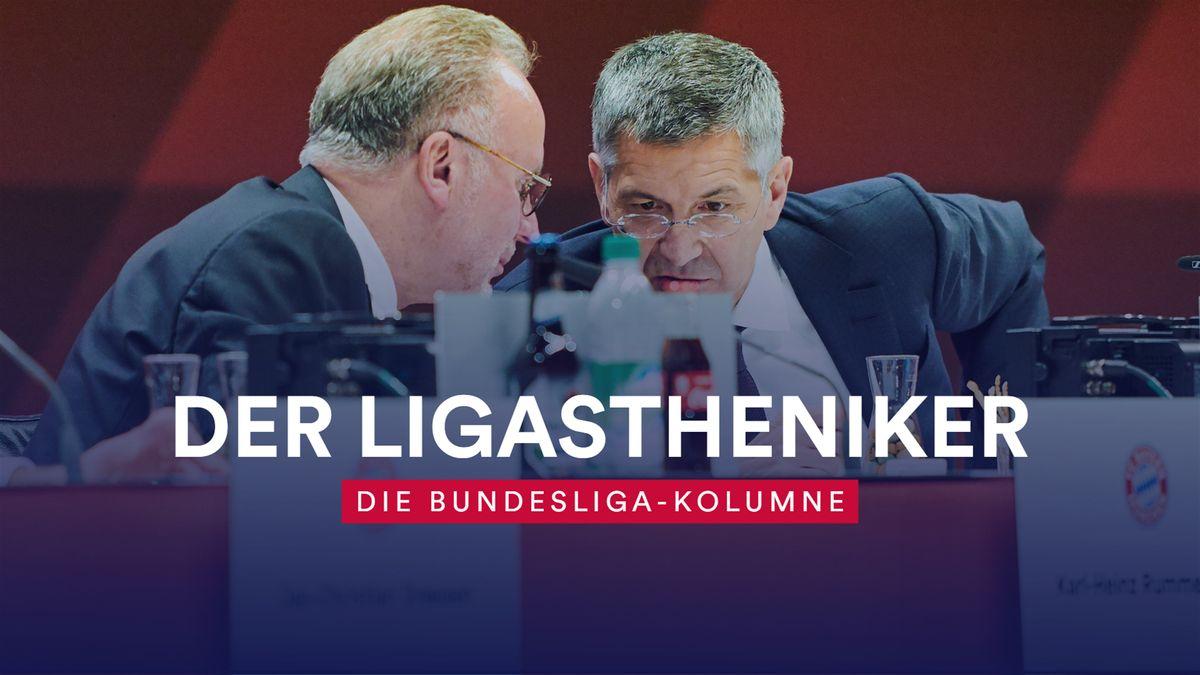 FC Bayern: Karl-Heinz Rummenigge und Herbert Hainer