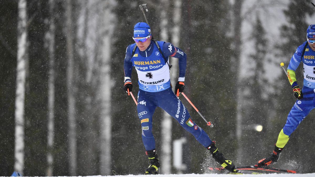 Lukas Hofer nella 10km sprint
