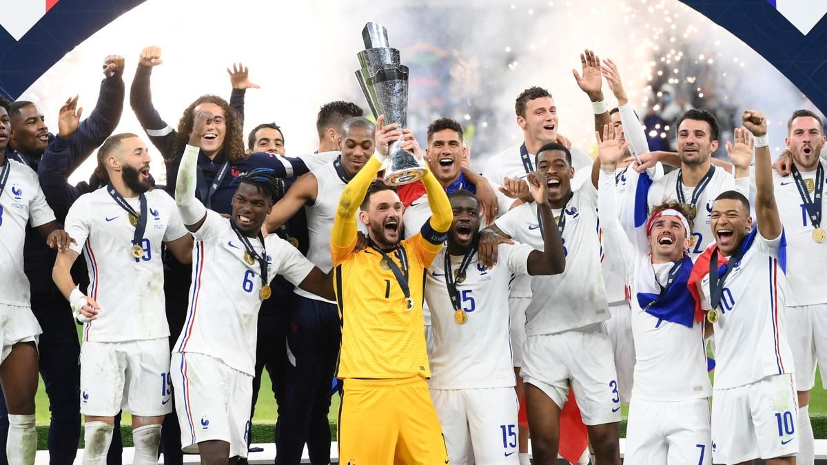 France fight back from two goals down to stun Belgium and reach Nations League final - Eurosport
