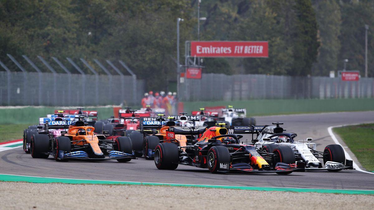 Die Formel 1 gastierte bereits 2020 in Imola