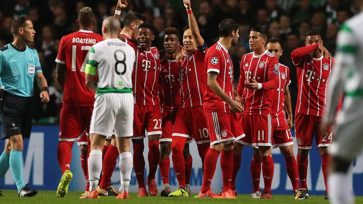 Der FC Bayern siegt bei Celtic Glasgow
