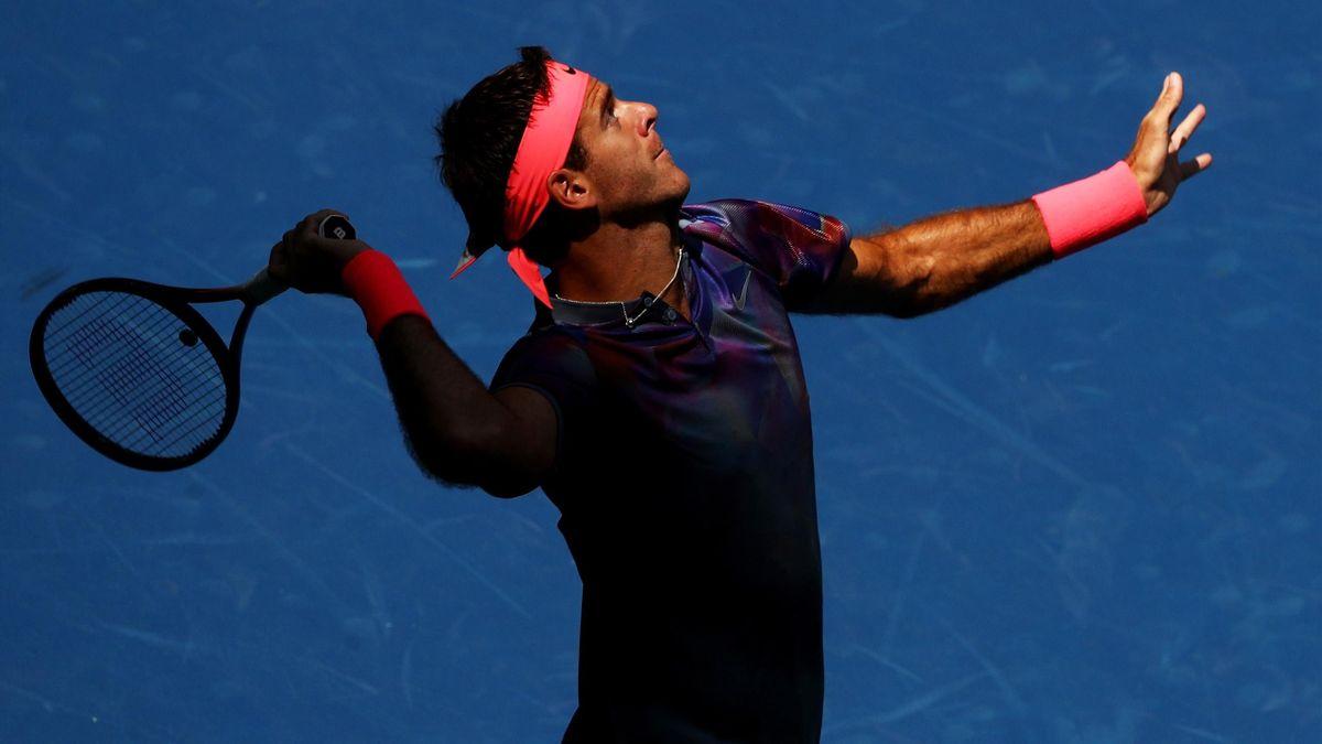 Juan Martin del Potro, US Open 2017.