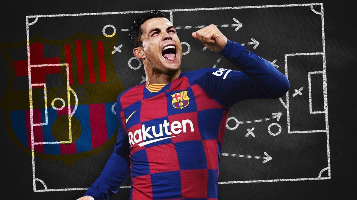 Fantasmes Tactiques - Cristiano Ronaldo au Barça