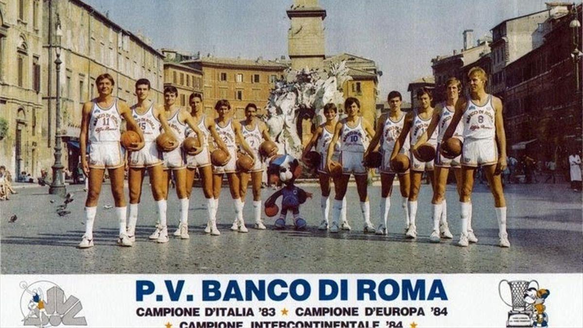 Il Banco Roma vincitore della Coppa Intercontinentale