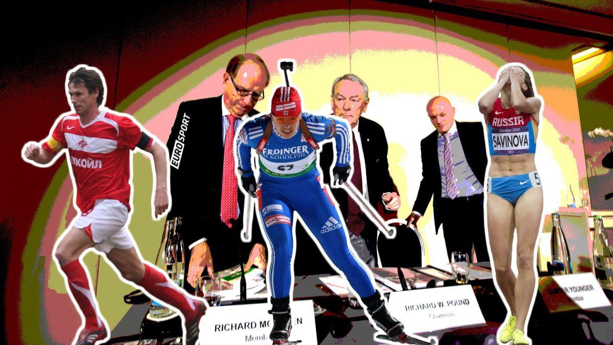 Наркозависимость. 8 громких допинговых скандалов с российскими спортсменами - Eurosport