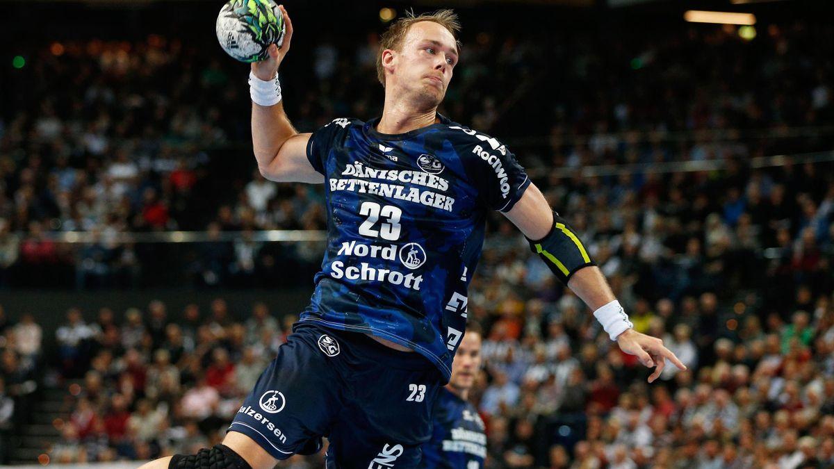 Sieg mit der SG Flensburg-Handewitt: Henrik Toft Hansen