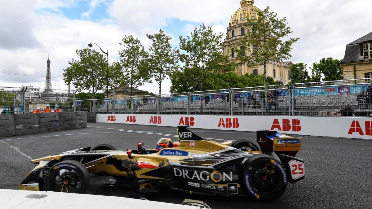Jean-Eric Vergne (Techeetah) en pole position de l'ePrix de Formule E