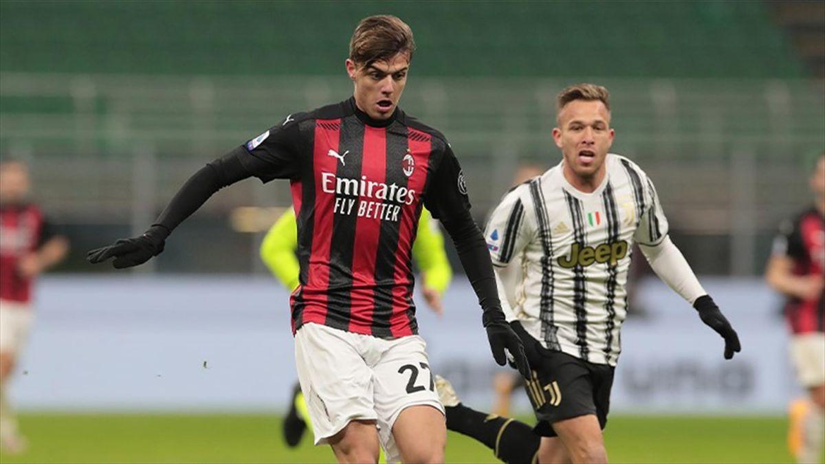 Daniel Maldini, Milan-Juventus 2020/21
