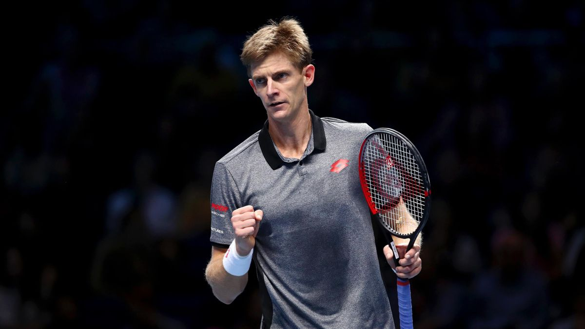 Kevin Anderson - ATP World Tour Finals Masters à Londres