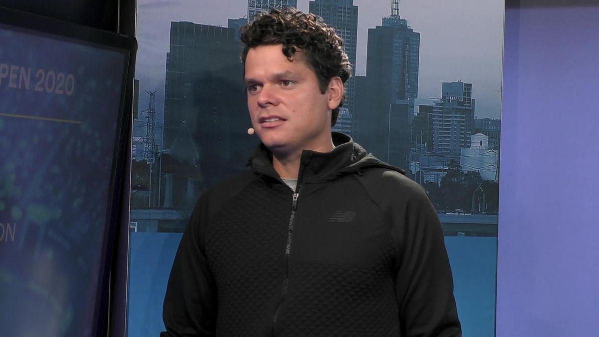 Australian Open: GSM - Legends masterclass with Raonic