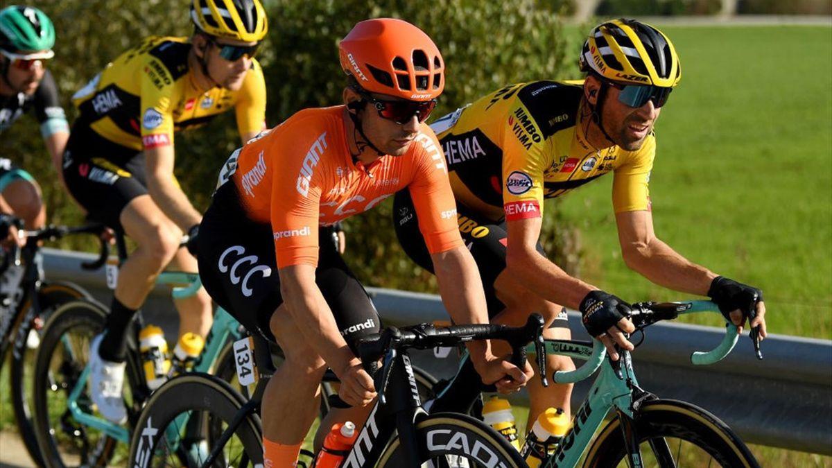 Jakub Mareczko - Vuelta 2020, stage 12 - Getty Images