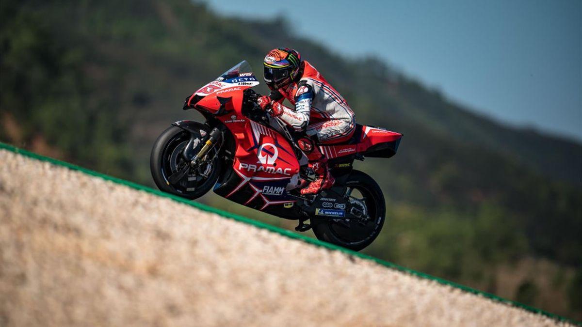 Francesco BAGNAIA (Ducati) al GP del Portogallo 2020 - Getty Images