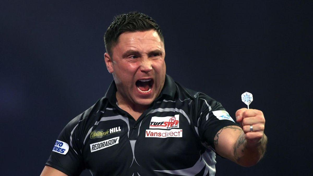 Gerwyn Price ist zum ersten Mal Darts-Weltmeister