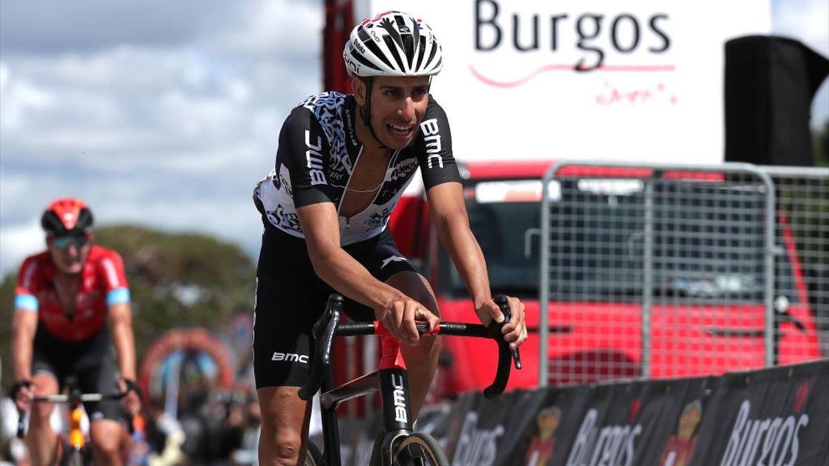Fabio Aru in azione alla Vuelta a Burgos 2021