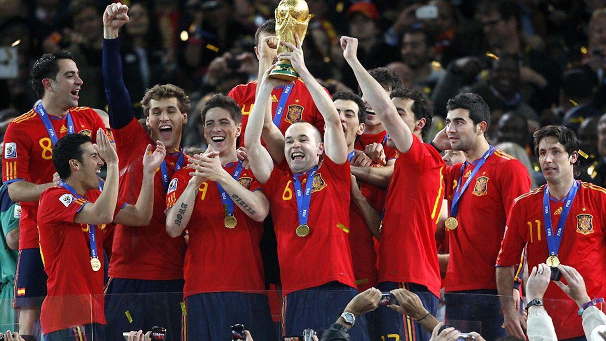 Spain - 2010 World Cup winners