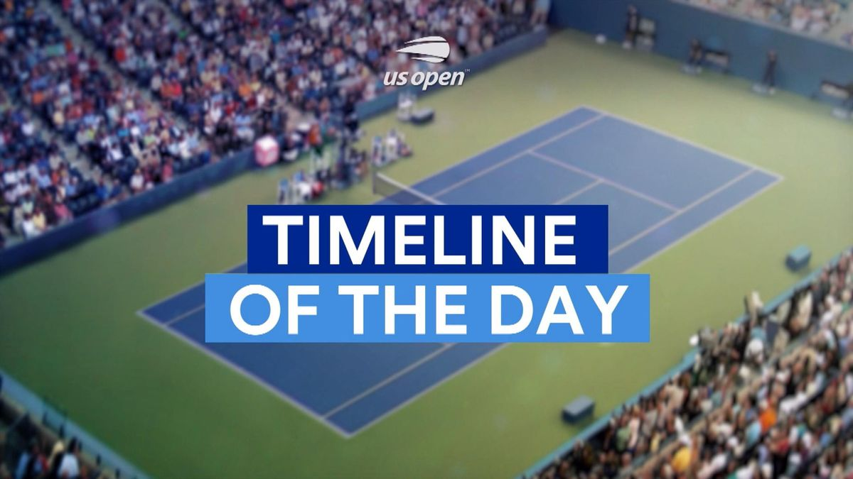 US Open : Timeline of Day 8