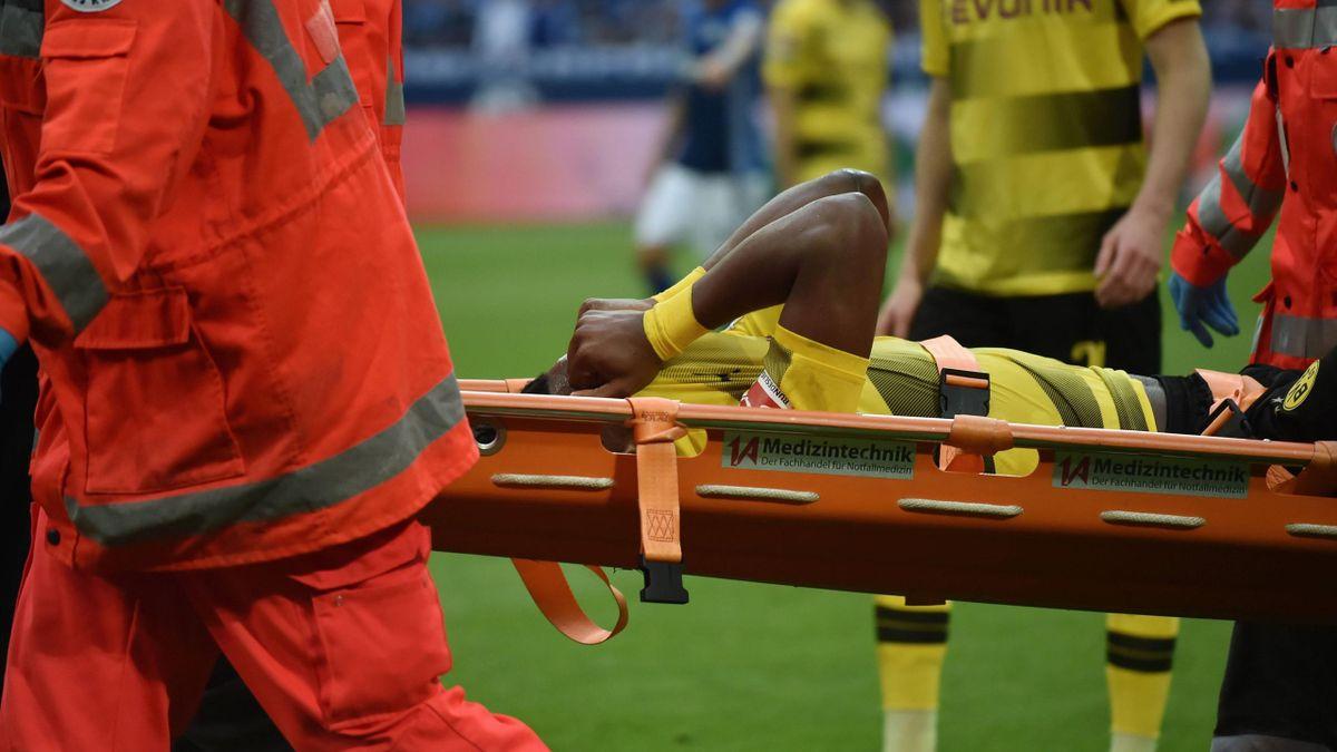 Michy Batshuayi im Derby gegen Schalke