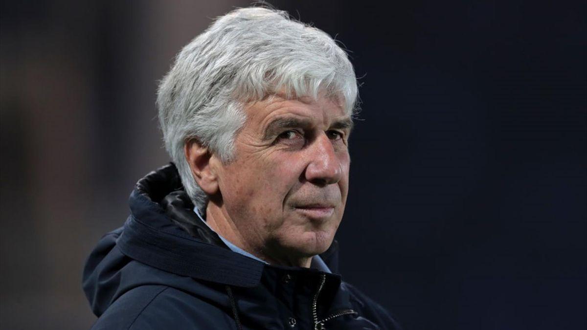 Gasperini durante Atalanta-Spezia - Serie A 2020/2021 - Getty Images