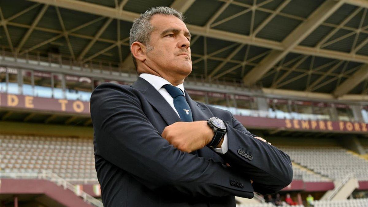 Il vice allenatore della Lazio Massimiliano Farris