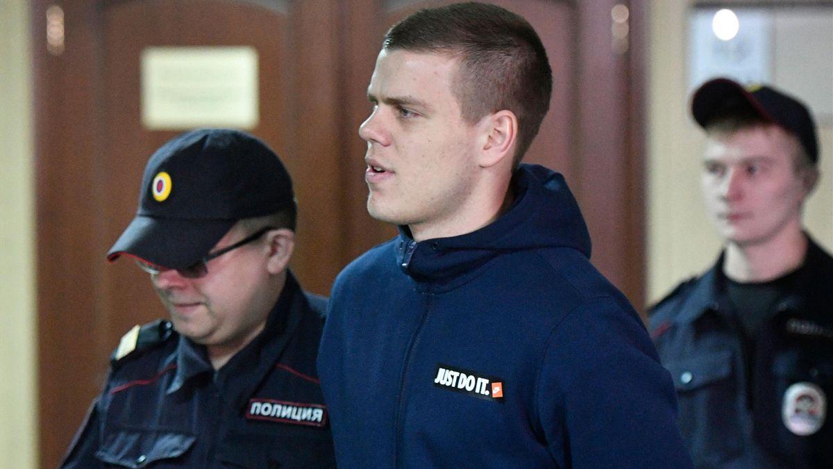 Александр Кокорин, суд 9 апреля 2019 года
