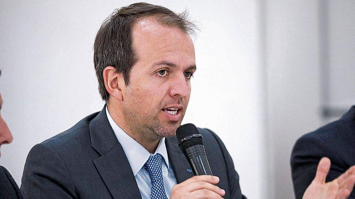 Ernesto Lucena, le ministre des sports colombien