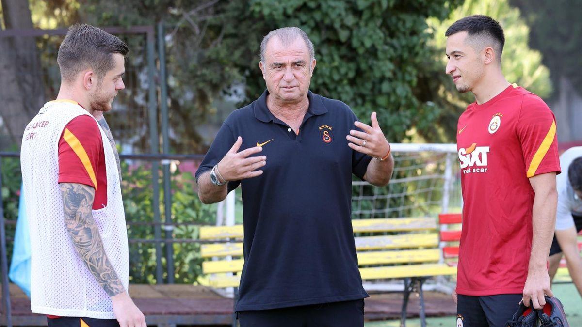 Alexandru Cicâldău și Olimpiu Moruțan, alături de Fatih Terim la Galatasaray
